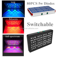 Daisy chain Unique Dual Spectrum Design switchable 5w chip led grow light panel for Flowers Greenhouse veg medical