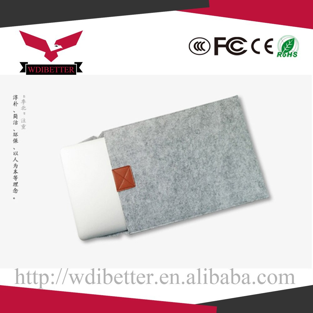 High Quality New Soft Brand Samsung Laptop Sleeve Bag For 13 Inch For Macbook With Wholesale