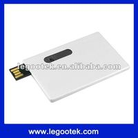 2012 hot selling credit card usb with full color print logo/accept PayPal/CE,FCC,ROHS