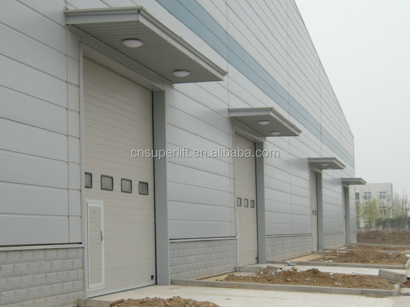 Sandwich Panel Industrial Slinding Gates For Workshop/Warehouse