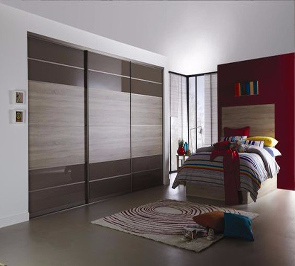 customized luxury lacquer door wardrobe