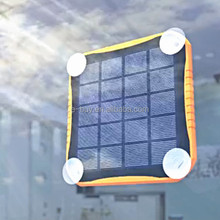 Waterproof portable solar window charger, window solar charger 5600mah