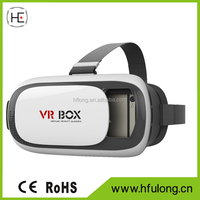 New Design 3D VR Box 2.0 Virtual Reality Headset /VR Headset 3D Glasses For Smartphones
