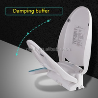 Intelligent toilet seat cover Bidet Electric Auto Toilet Seat Warm Water Washlet Dry Spa Sprayer