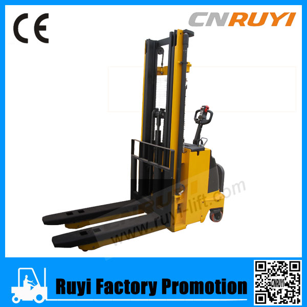 Low Price Electric Straddle Stacker/Full Electric Stacker forklift/Reach AC Stacker