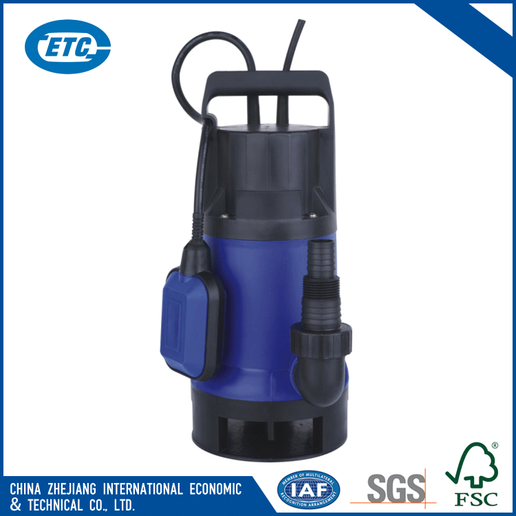 Electric overload motor protector automatic floating switch stainless steel submersible water pump