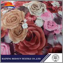 free sample!wholesale flower pattern printed sofa fabric material