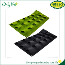 Onlylife Home Decoration Felt Wall Planter Vertical Grow Bags