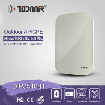 Todaair 5.8 GHz wireless router broadband internet outdoor wireless cpe access point 5 km