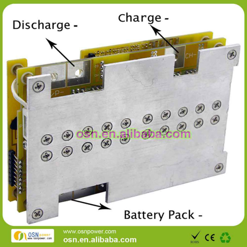 PCB BMS 4s for LiFePO4 Batteries pack