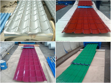 Mill direct supply painted corrugated steel sheets, color coated metal roofing and wall sheets