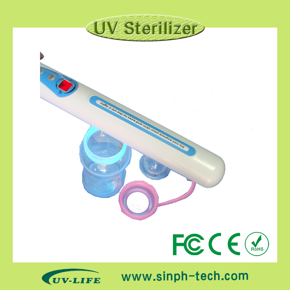 Handheld UV light Wand Sanitizer/sterilizer for clothes/keyboard/mobile phone/baby playthings