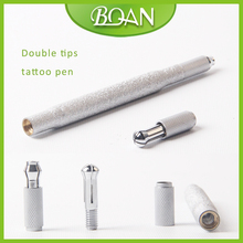BQAN New Winkled Metal Handle Permanent Make Up Machine Cosmetic Eyebrow Tattoo Pen Tool