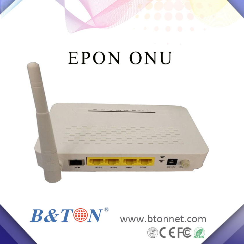 3 Ethernet port+ VOIP+wifi epon onu for fiber optic network router
