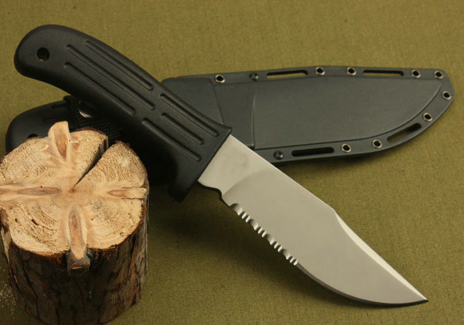 D2 steel MPK-10 survival knife hand-made knives Kraton handle straight knife 60HRC 5221
