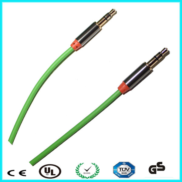 Factory price 3.5mm male audio aux stereo jack cable