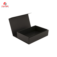 Flat folding down gift carton boxes for storage