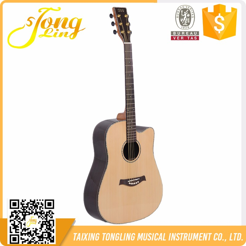 Tongling MD-001 41 Inch AA level solid spruce acoustic guitar price