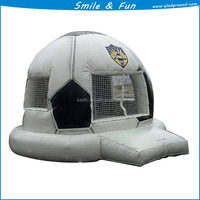 inflatable soccer bounce house size 4*4.5m