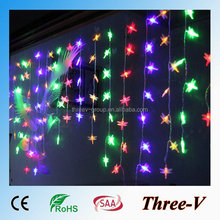 104LED 2*1M led Xmas lights holiday decoration window curtain dragonfly/stars/snowflake/heart/angel/cherry/lantern/bubble stick