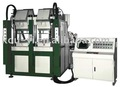 Two Color Vertical Type Automatic Plastic Injection Moulding Machine
