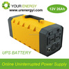 OEM 10 years long life lithium ion lifepo4 UPS rechargeable battery