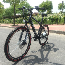 2016 cheap electric mountain bike with hidden battery