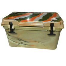 High quality 45L green cooler and rotomold cooler box
