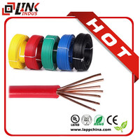 PVC sheath BV RVV electric wire/copper wire /electrical cable price from china supplier