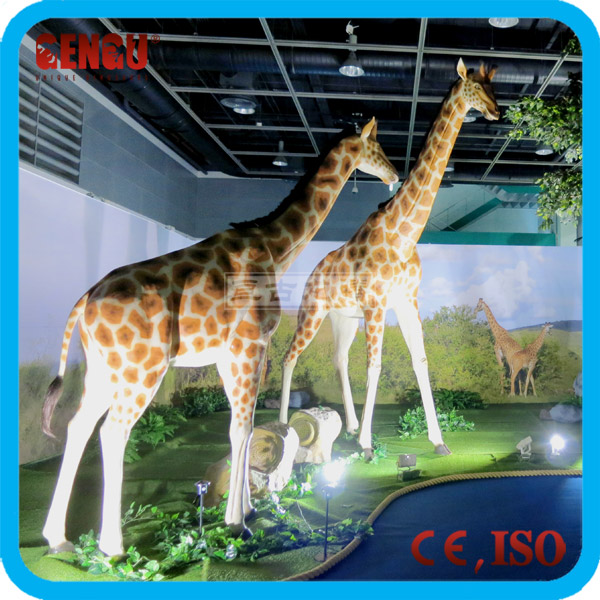 High Simulation Artificial Mechanical Plastic Animal Life Size Model