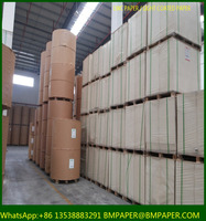 BMPAPER 48-80gsm Light weight paper used for printing and label, LWC paper