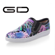 2015 New Fashion students style mixed color walking shoes for teenagers
