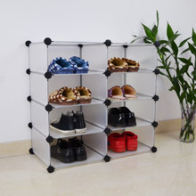 High quality magic diy PP cube shoe cabinet with ikea style(YK-7027)