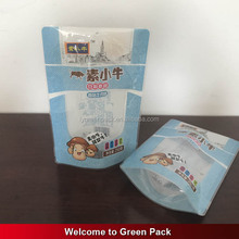 packaging bags for snacks /custom snack bags /laminated poly bag,printed with clear window plastic