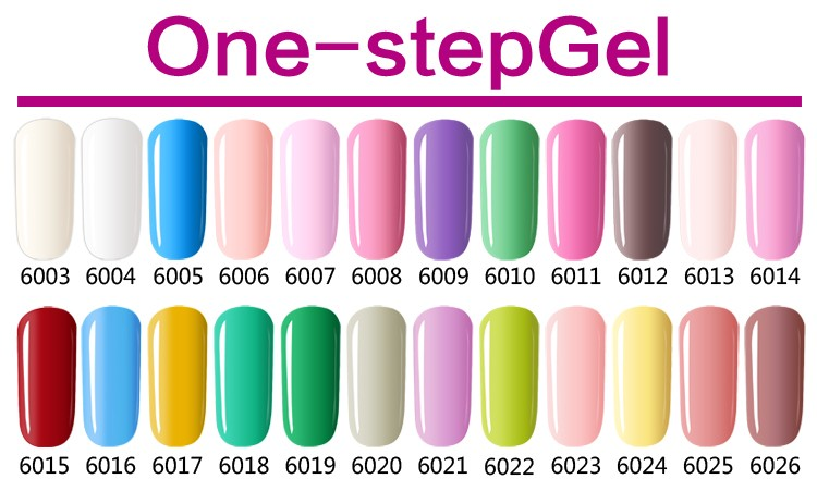L&M Factory Wholesale Professional Color Gel Nail One Step Gel Polish