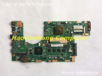 Wholesale motherboard assy for Asus S400 S400CA notebook 60NB0050-MB9010 S400CA Ver 3.1 PCB 4G RAM I3 processor onboard