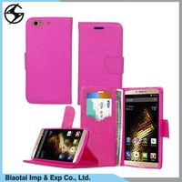 Fancy attactive durable pu leather back cover case for gionee elife s7