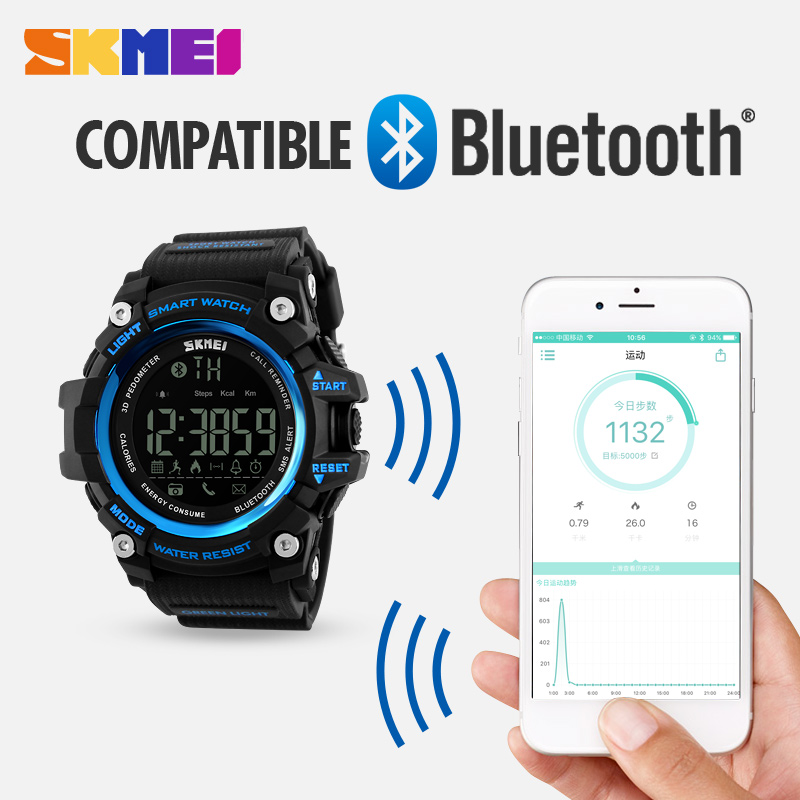 cheap price bluetooth calorie pedometer waterproof plastic android smart watch