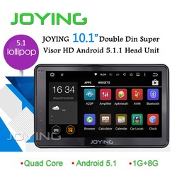 10.1 inch HD Android 5.1 Double Din Car stereo Multimedia Player /Head unit for Toyota