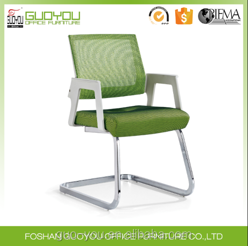 Foshan wholesale office furniture visitor meeting or student office chair with mesh mental base