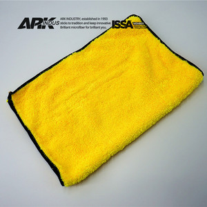 high plush microfibre car auto detailing cleaning plush towel