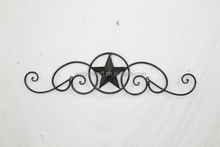 2015 New Arrive Home Decor Hanging Wall Metal Star Made In China