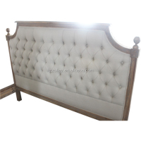 Luxury Classic Hotel Solid Wooden Queen Size Beds
