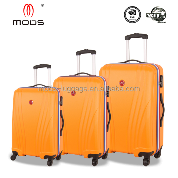 Hot Sale new design Cheap ABS hard trolley luggage