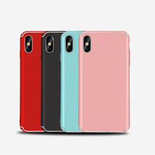 new design phone case for iphone x pc luxury case for apple iphonex hard shell red