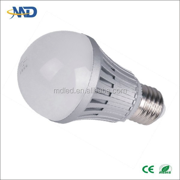 7W LED ball bulb lamp E26 E27 E14 B22 bulb 90-260V or DC12V direct factory in zhuhai socket with remote control