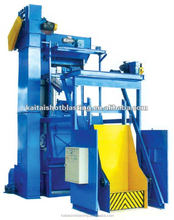 Q28GN casting and forging surface auto wheel blasting machine