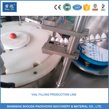 Vacuum Perfume Cosmetic Vial Liquid Filling Machine,Automatic Nail Polish Eye Drops Glass Bottles Filler equipment