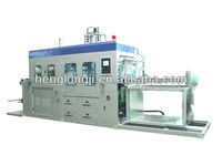 automatic high speed vacuum forming machine