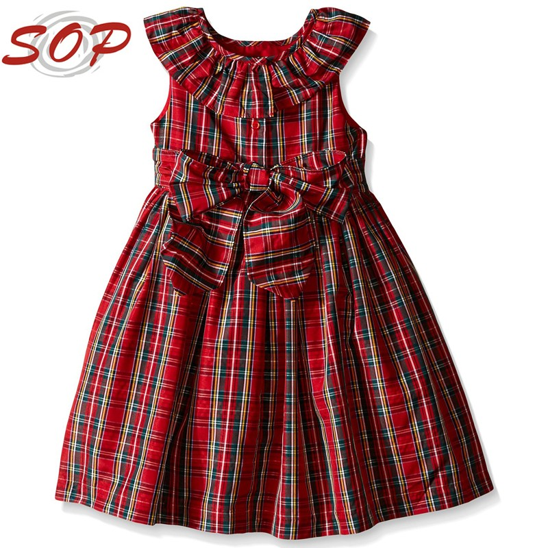 Wholesale children boutique clothing of red plaid holiday for Cheap boutique holidays